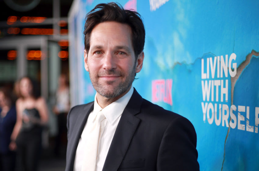 HOLLYWOOD, CALIFORNIA - OCTOBER 16: Paul Rudd attends the Premiere of Netflix's