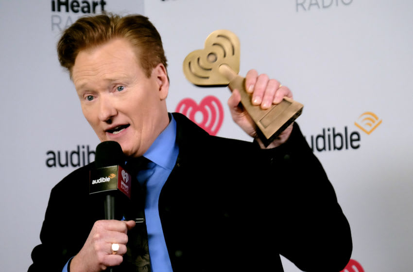 Conan O'Brien (Photo by Tommaso Boddi/Getty Images for iHeartMedia)