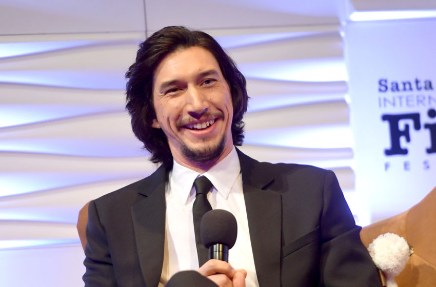 SANTA BARBARA, CALIFORNIA - JANUARY 17: Adam Driver attends the Outstanding Performers Of The Year Award Honoring Scarlett Johansson And Adam Driver Presented by Belvedere Vodka during the 35th Santa Barbara International Film Festival at Arlington Theatreon January 17, 2020 in Santa Barbara, California. (Photo by Matt Winkelmeyer/Getty Images for SBIFF)