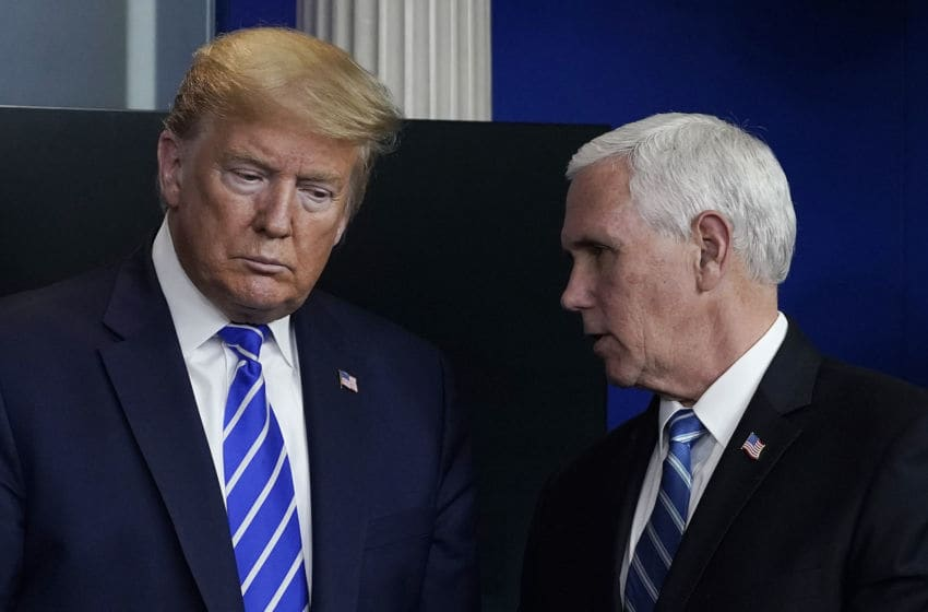 President Donald Trump and Vice President Mike Pence (Photo by Drew Angerer/Getty Images)