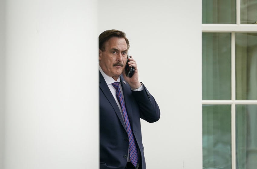 MyPillow CEO Mike Lindell (Photo by Drew Angerer/Getty Images)