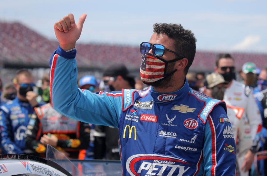 Bubba Wallace (Photo by Chris Graythen/Getty Images)