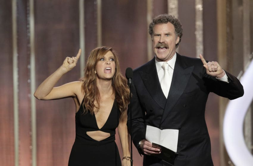 Kristen Wiig and Will Ferrell (Photo by Paul Drinkwater/NBCUniversal via Getty Images)