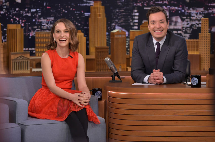 Natalie Portman on The Tonight Show Starring Jimmy Fallon (Photo by Theo Wargo/Getty Images for NBC)