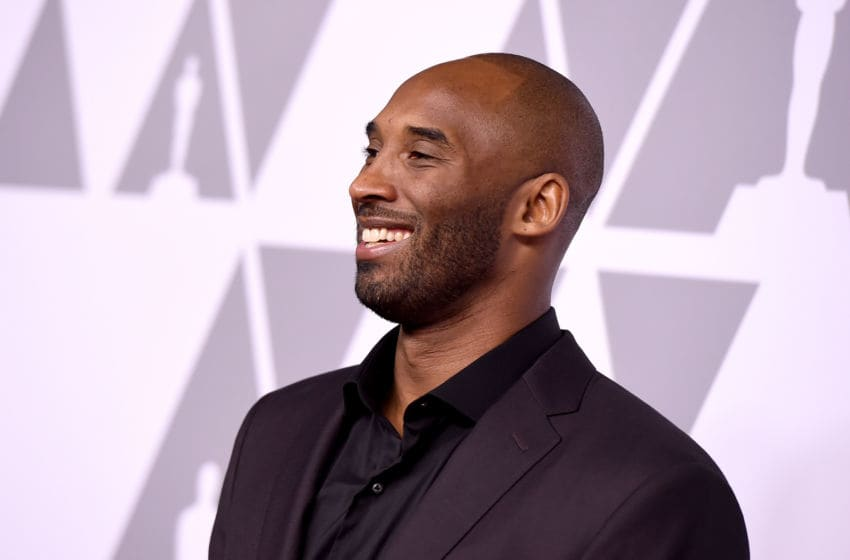 BEVERLY HILLS, CA - FEBRUARY 05: Kobe Bryant attends the 90th Annual Academy Awards Nominee Luncheon at The Beverly Hilton Hotel on February 5, 2018 in Beverly Hills, California. (Photo by Kevin Winter/Getty Images)