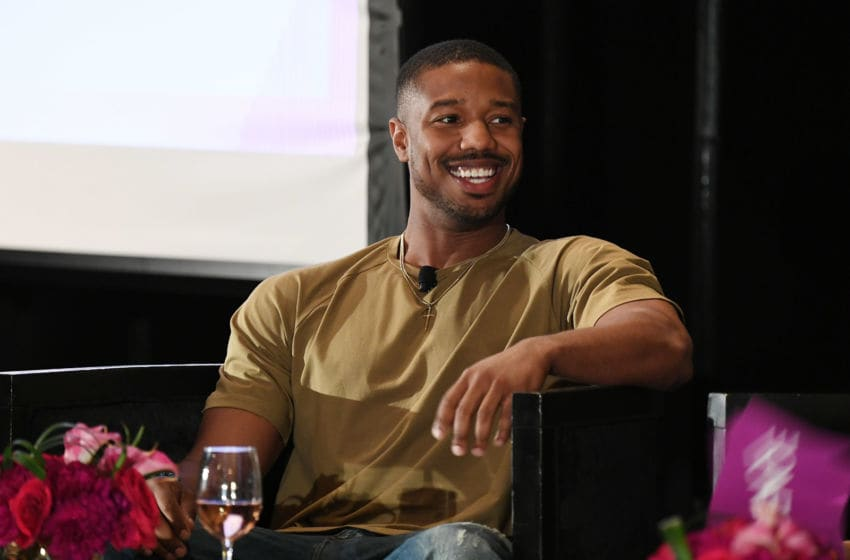 NEW ORLEANS, LA - JULY 08: Michael B. Jordan speaks onstage during the 2018 Essence Festival on July 8, 2018 in New Orleans, Louisiana. (Photo by Paras Griffin/Getty Images for Essence)