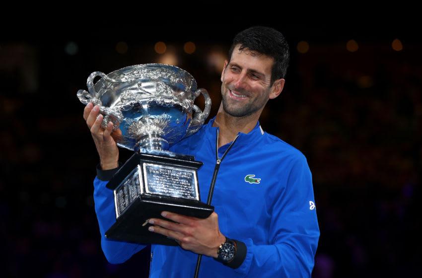 Novak Djokovic (Photo by Julian Finney/Getty Images)