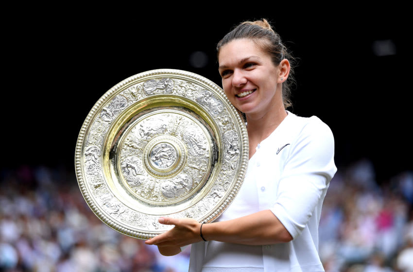 Simona Halep (Photo by Laurence Griffiths/Getty Images)