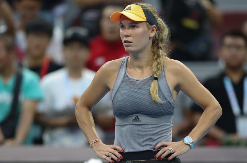 Caroline Wozniacki (Photo by Lintao Zhang/Getty Images)