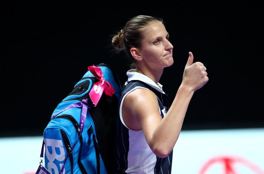 Karolina Pliskova (Photo by Clive Brunskill/Getty Images)
