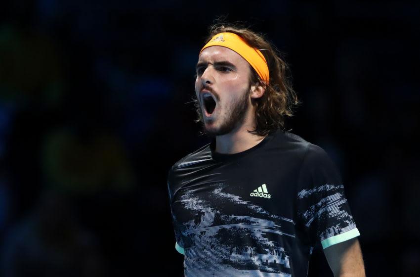 Stefanos Tsitsipas (Photo by Julian Finney/Getty Images)