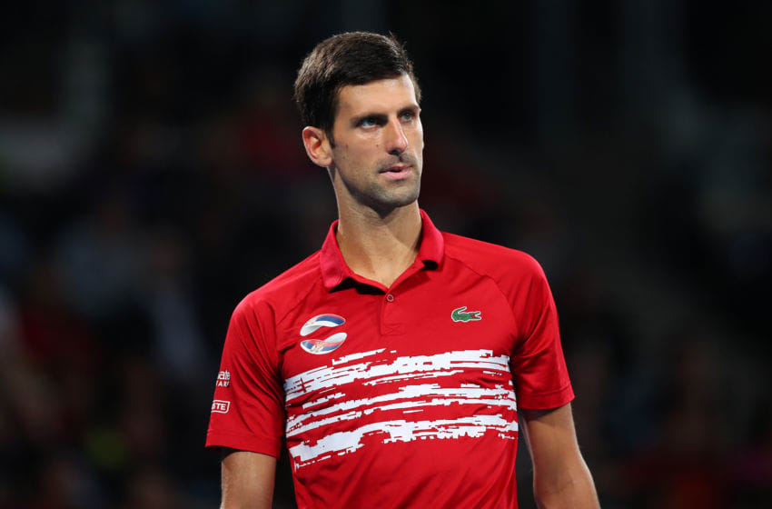 Novak Djokovic will play the Australian Open (Photo by Cameron Spencer/Getty Images)
