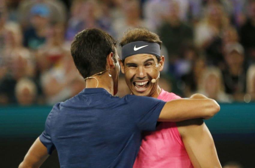 Rafael Nadal had a good Australian Open draw (Photo by Darrian Traynor/Getty Images)
