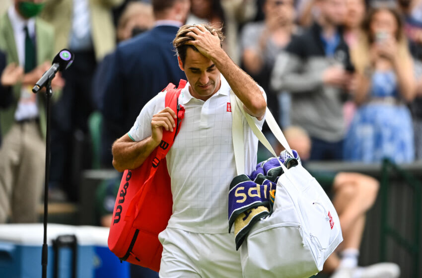 Roger Federer withdraws from Tokyo Olympics (Photo by TPN/Getty Images)