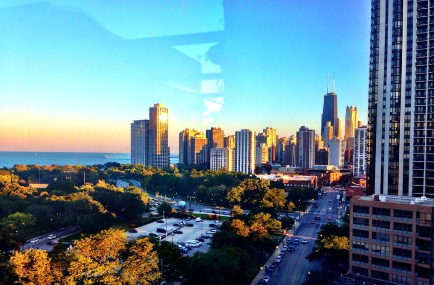 Great skyline view from The J Parker. Photo Credit: Yelp
