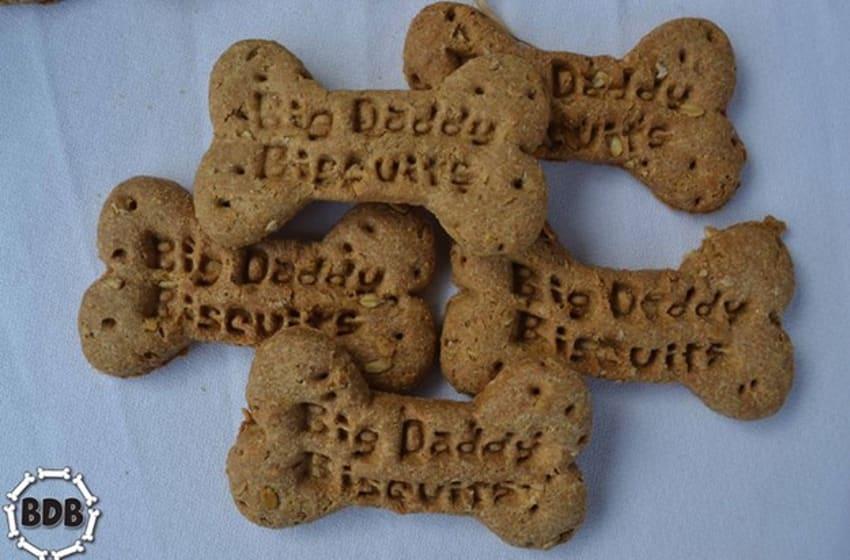 Big Daddy Dog Biscuits. Photo credit: Jessica Luce for Big Daddy Dog Biscuits.