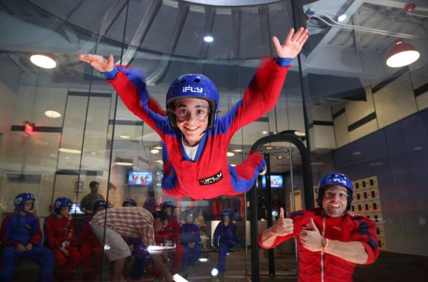iFLY Indoor Skydiving. Photo Credit: Yelp