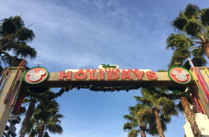 The Festival of Holidays celebration at Disneyland Resort