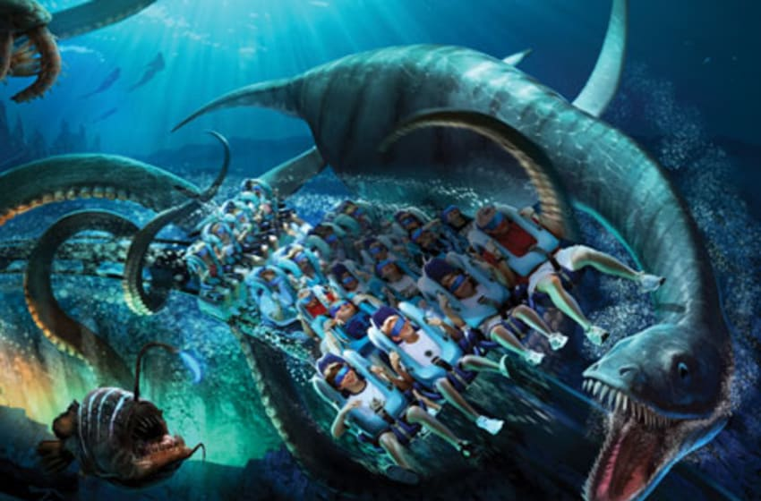 Kraken adds VR aspect in 2017, photo provided by SeaWorld Orlando