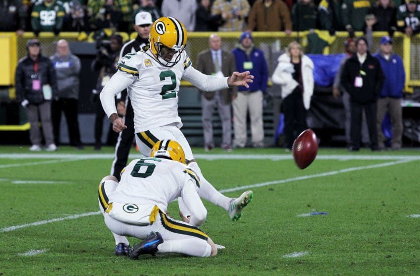 Green Bay Packers, Mason Crosby (Photo by Dylan Buell/Getty Images)