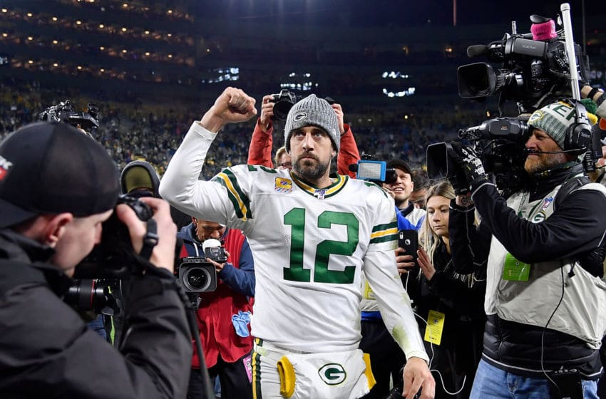 Green Bay Packers, Aaron Rodgers (Photo by Quinn Harris/Getty Images)