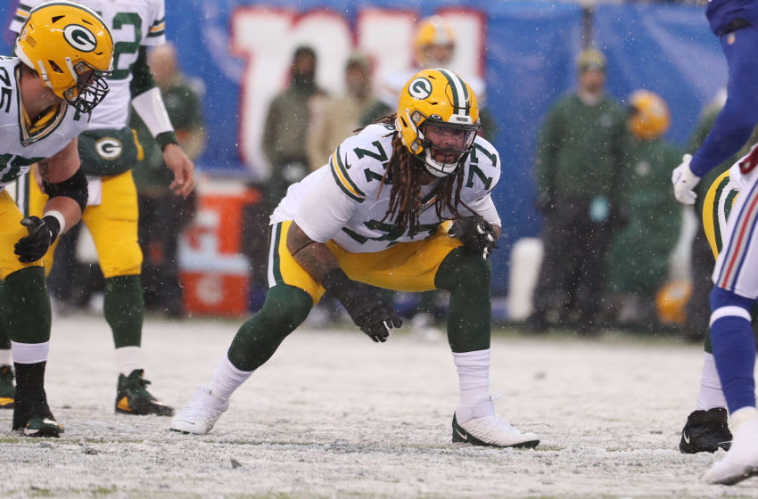 Green Bay Packers, Billy Turner (Photo by Al Bello/Getty Images)