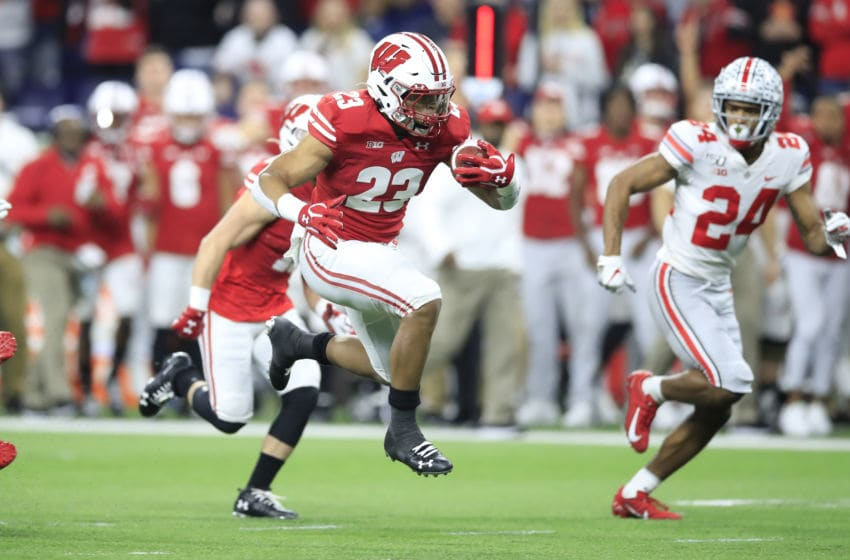Jonathan Taylor, Wisconsin Badgers (Photo by Andy Lyons/Getty Images)