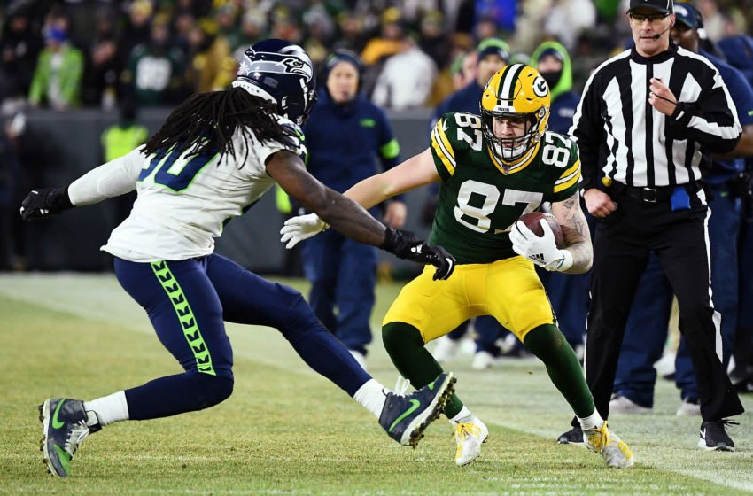 Green Bay Packers, Jace Sternberger (Photo by Stacy Revere/Getty Images)