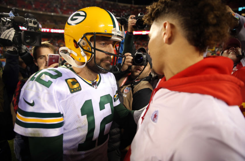 Green Bay Packers, Aaron Rodgers (Photo by Jamie Squire/Getty Images)