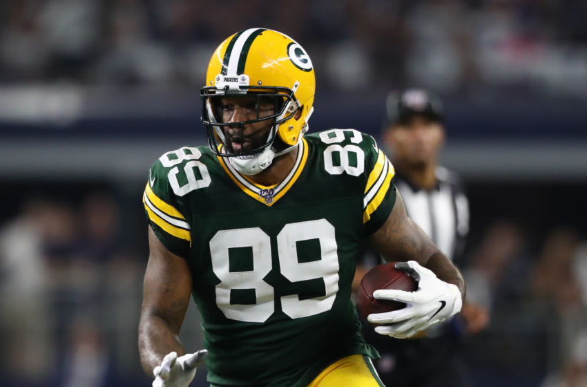 Green Bay Packers, Marcedes Lewis (Photo by Ronald Martinez/Getty Images)