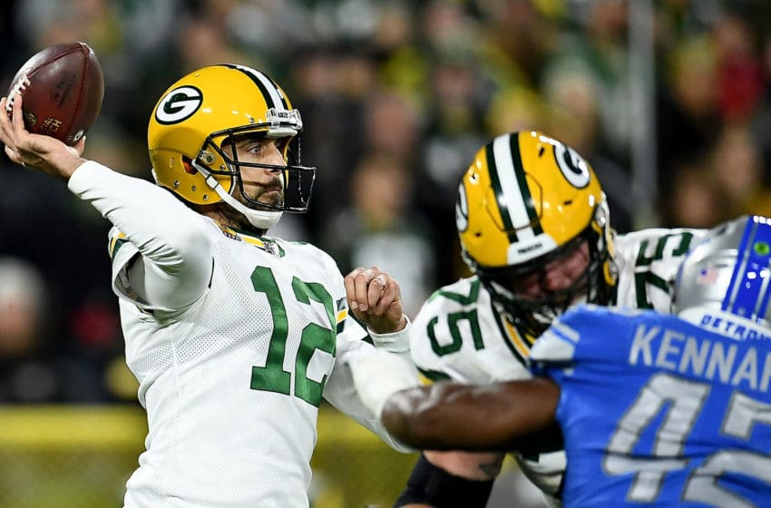 Green Bay Packers, Aaron Rodgers (Photo by Stacy Revere/Getty Images)