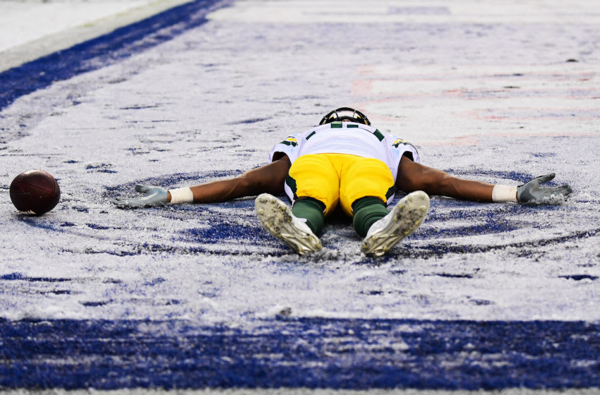 Green Bay Packers, Aaron Jones (Photo by Emilee Chinn/Getty Images)