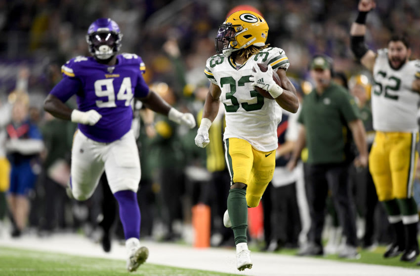 Green Bay Packers, Aaron Jones (Photo by Hannah Foslien/Getty Images)