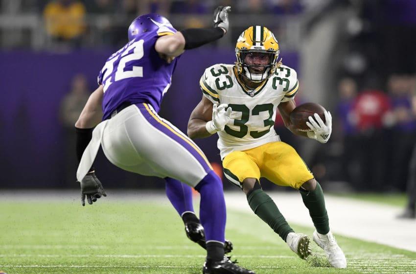 Green Bay Packers, Aaron Jones (Photo by Hannah Foslien/Getty Images)