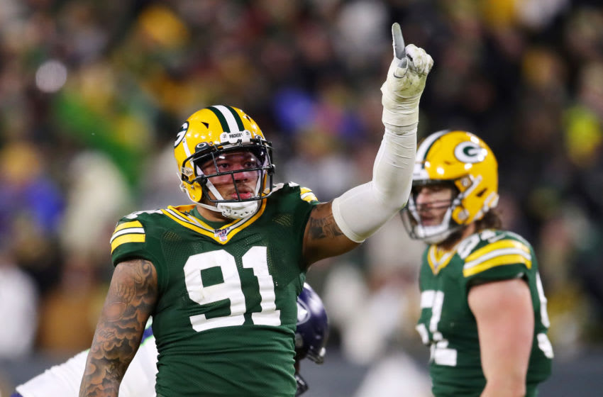 Green Bay Packers, Preston Smith (Photo by Gregory Shamus/Getty Images)