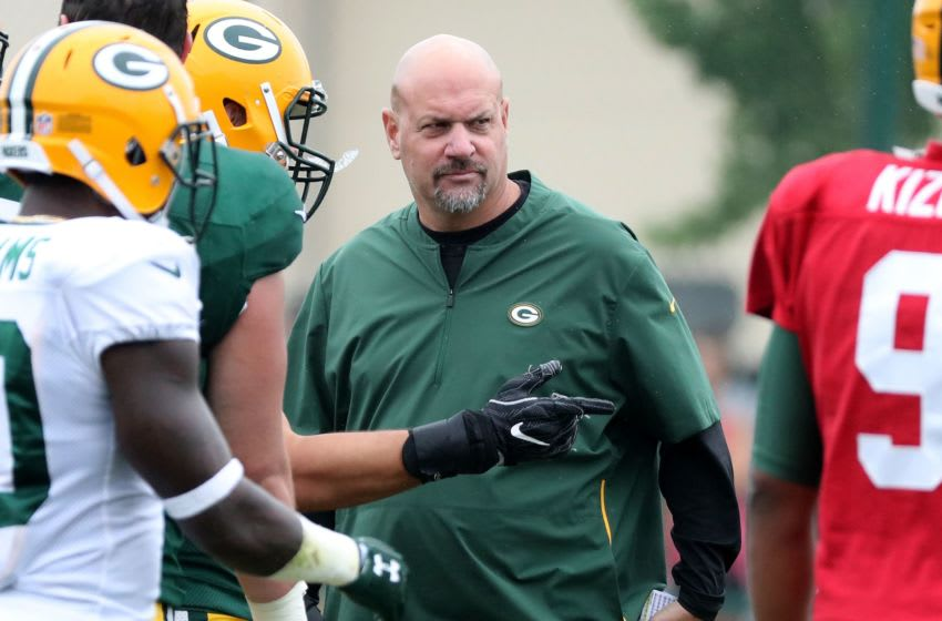 Green Bay Packers, Mike Pettine 16 080218 Packers Camp 20057