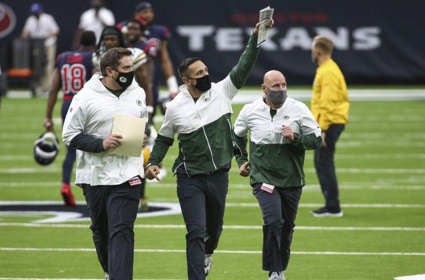 Green Bay Packers, Matt LaFleur - Mandatory Credit: Troy Taormina-USA TODAY Sports