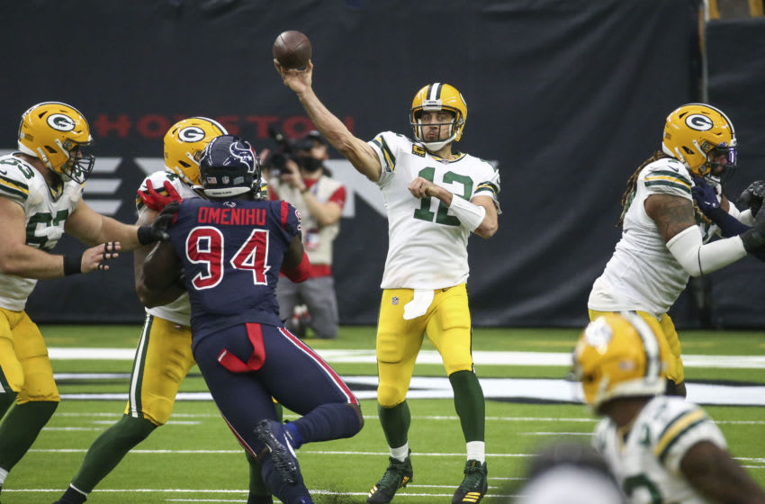 Green Bay Packers, Aaron Rodgers - Mandatory Credit: Troy Taormina-USA TODAY Sports