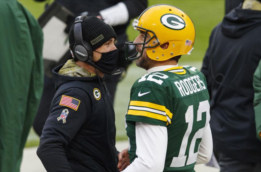 Green Bay Packers, Matt LaFleur, Aaron Rodgers - Mandatory Credit: Jeff Hanisch-USA TODAY Sports