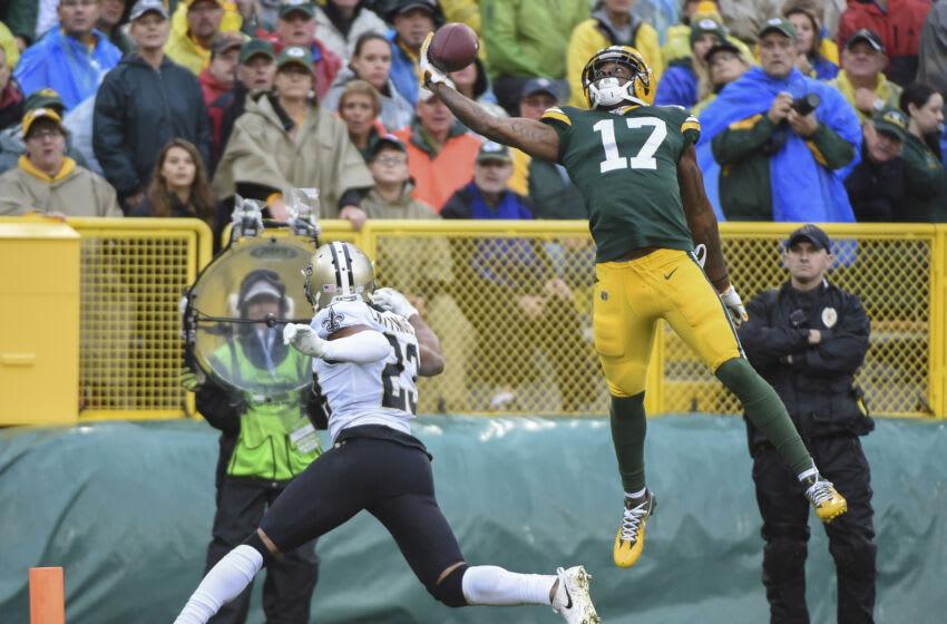 Green Bay Packers, Davante Adams - Mandatory Credit: Benny Sieu-USA TODAY Sports