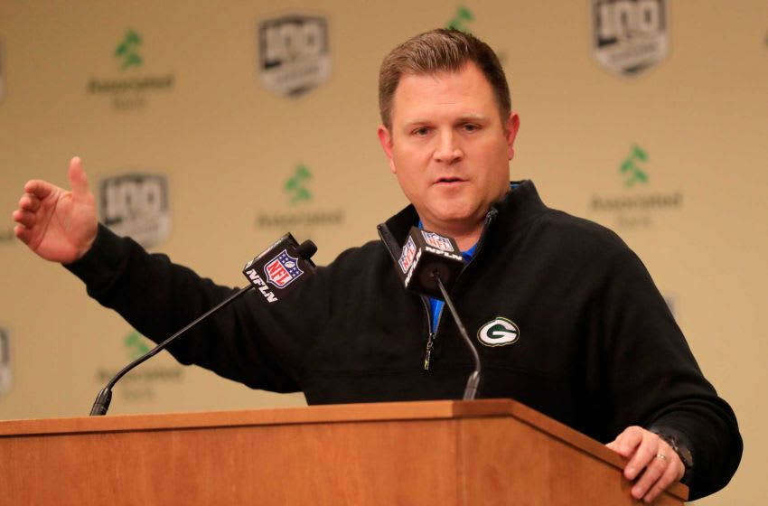 Green Bay Packers, Brian Gutekunst Gpg Packers 031419 Abw079