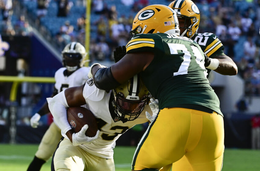 Green Bay Packers, Elgton Jenkins - Mandatory Credit: Tommy Gilligan-USA TODAY Sports