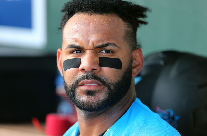 JUPITER, FL - MARCH 10: Jonathan Villar #2 of the Miami Marlins in action against the Washington Nationals during a spring training baseball game at Roger Dean Stadium on March 10, 2020 in Jupiter, Florida. The Marlins defeated the Nationals 3-2. (Photo by Rich Schultz/Getty Images)