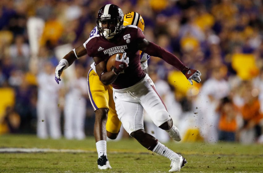 Chad Bumphis #1 of the Mississippi State Bulldogs (Photo by Chris Graythen/Getty Images)