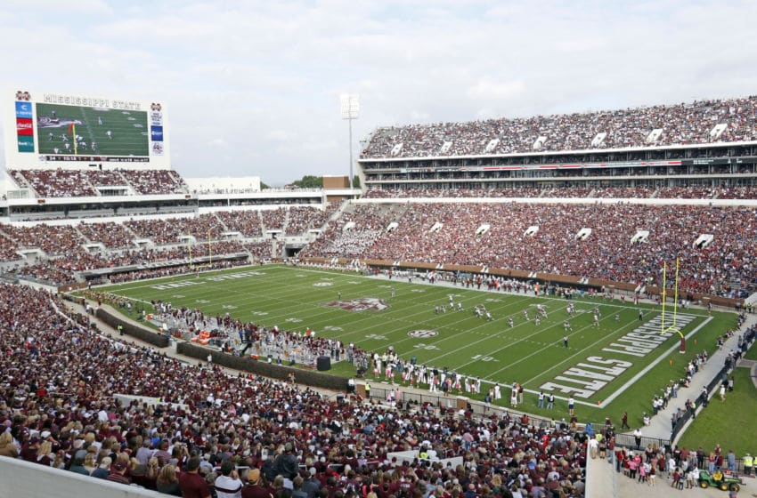 STARKVILLE MS -OCTOBER 10: General view of Davis Wade Stadium during the game between Troy and Mississippi State on October 10, 2015, in Starkville, Mississippi. (Photo by Butch Dill/Getty Images)