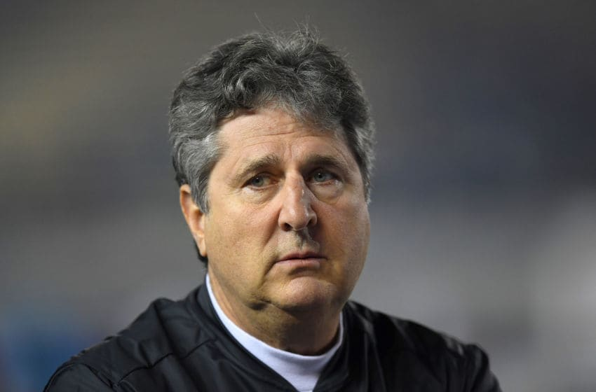 Mike Leach of the Mississippi State Bulldogs (Photo by Thearon W. Henderson/Getty Images)