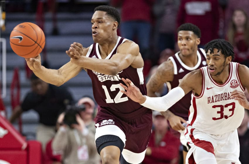 Robert Woodard II of the Mississippi State Bulldogs (Photo by Wesley Hitt/Getty Images)