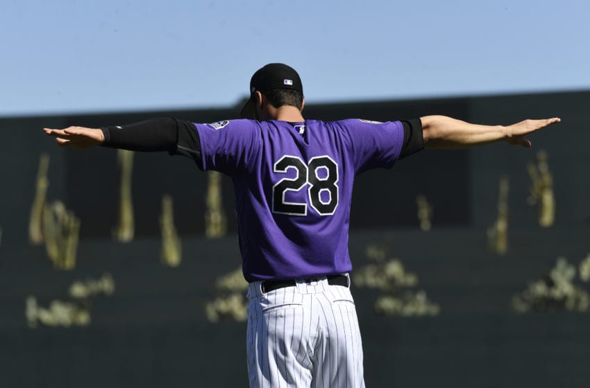 Nolan Arenado (Photo by Andy Cross/MediaNews Group/The Denver Post via Getty Images)