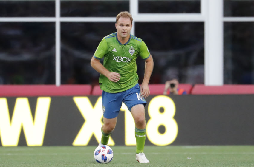 MLS, Seattle Sounders, Chad Marshall (Photo by Fred Kfoury III/Icon Sportswire via Getty Images)