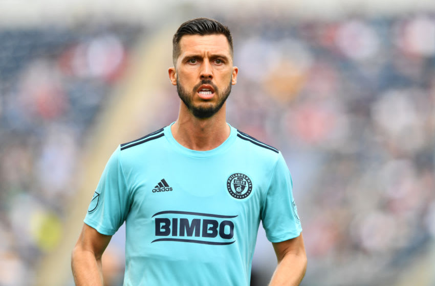 CHESTER, PA - APRIL 20: Union Midfielder Haris Medunjanin (6) looks on in the first half during the game between the Montreal Impact and Philadelphia Union on April 20, 2019 at Talen Energy Stadium in Chester, PA. (Photo by Kyle Ross/Icon Sportswire via Getty Images)
